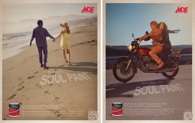 ACE Hardware's Soul Paint campaign. Photographer: Dave Mead