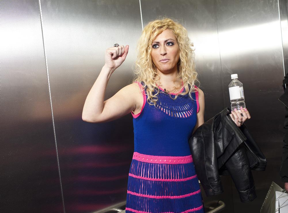 Jane McGonigal spoke at SXSW Interactive in Austin, Texas on March 9, 2012.  © Ben Sklar