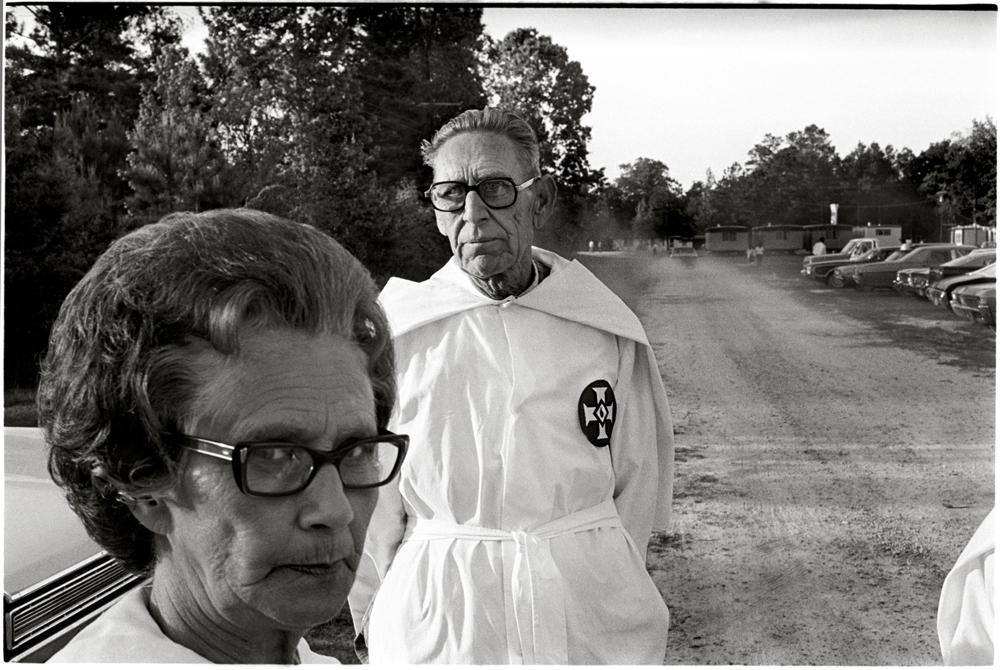 KKK Member and wife, East Texas 1975