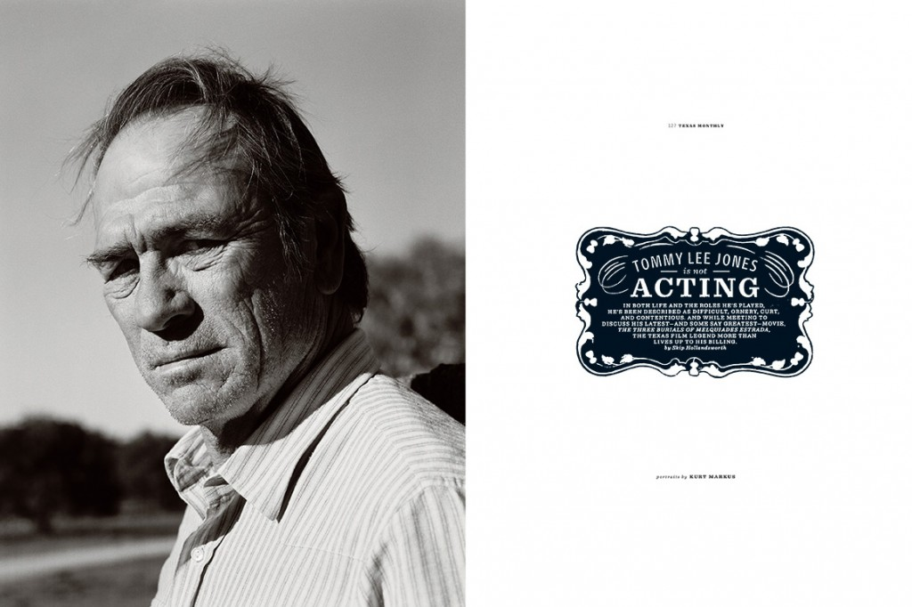 Tommy Lee Jones - photo by Kurt Markus