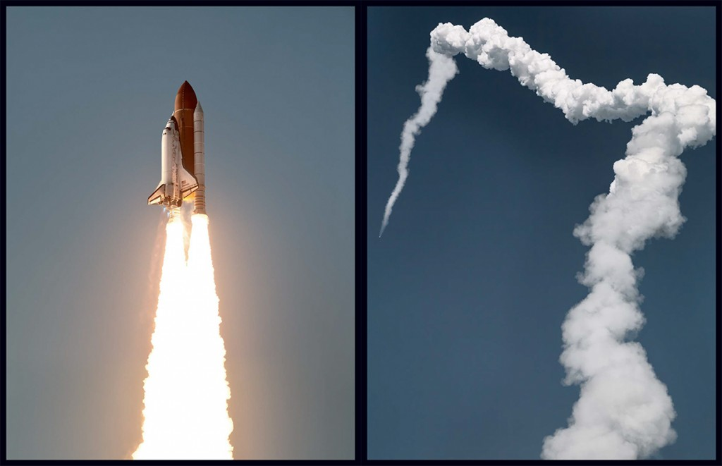 Shuttle Launch - photos by Dan Winters
