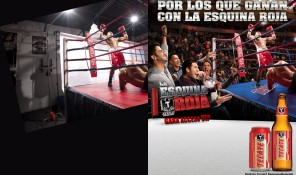 Boxing Ring for Tecate, ©Tom Hussey