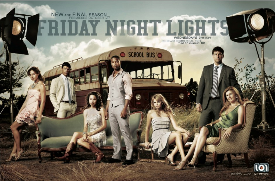 Friday Night Lights ad, photography by Justin Stephens. Styled by Lauren Smith Ford.