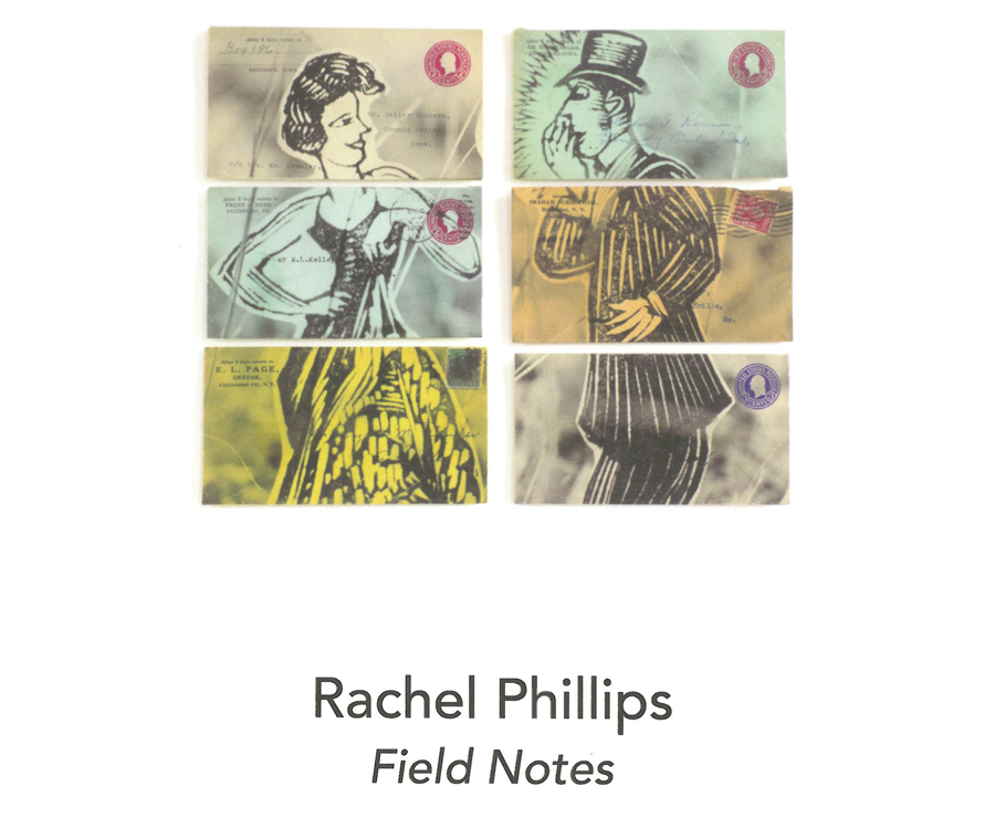 Rachel Philips, Field Notes, now exhibited at Catherine Couturier Gallery