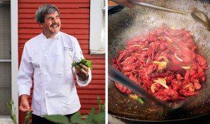 Andre Delacroix, Chef/Owner of the Brazos Belle Restaurant - Bur